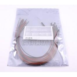 Blå Samlede dioder 5mm 24V - 10 stk.