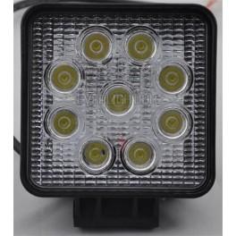 Firkantet Alu LED Arbejdslampe 9-32V