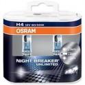 H4 Osram Night Breaker Unlimited +110% – Twin Pack